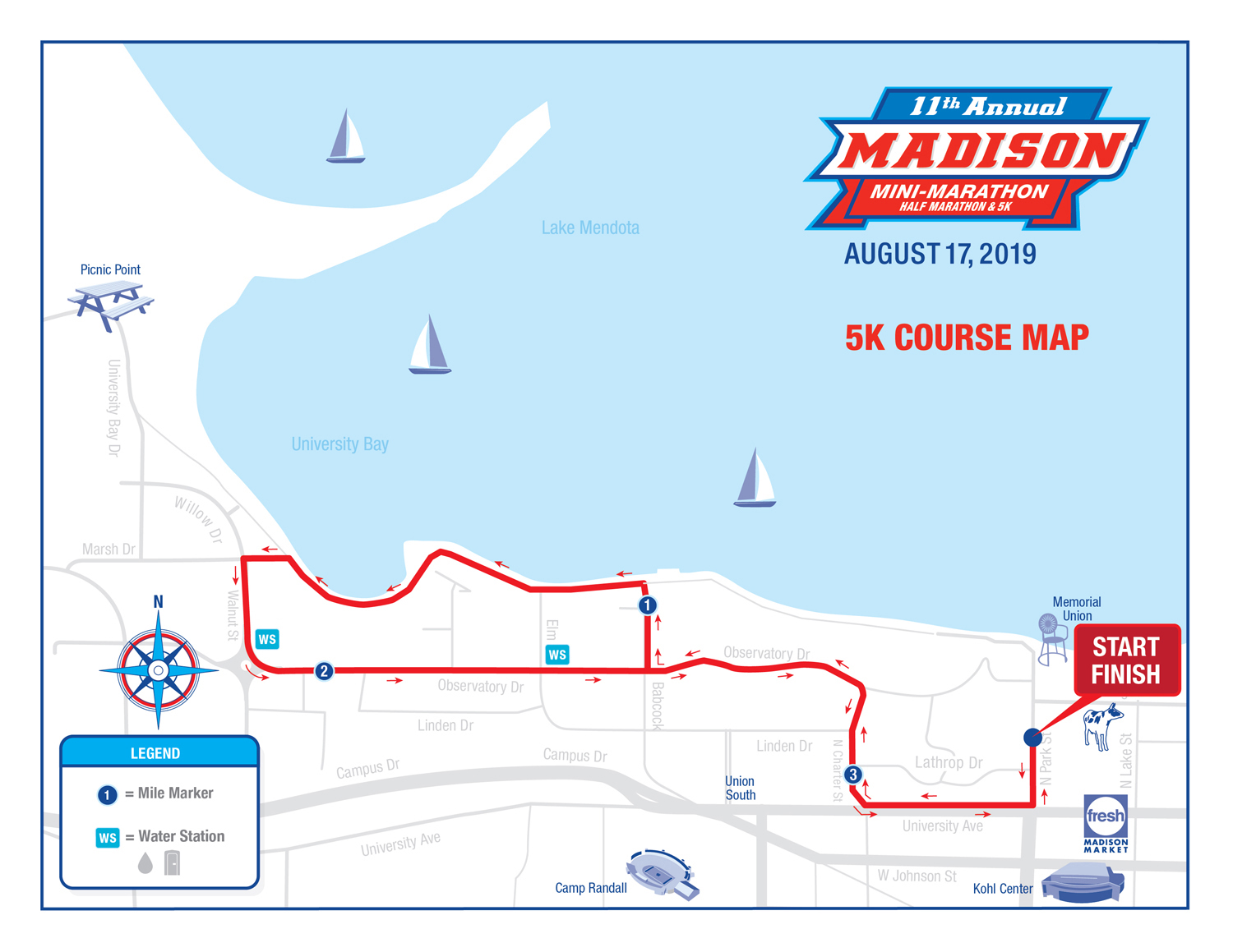 5K Route Information – Madison Mini-Marathon & 5K on wisconsin altitude map, wisconsin reservation map, wisconsin state highway map, wisconsin zone map, wisconsin detours map, wisconsin hwy map, wisconsin road map,